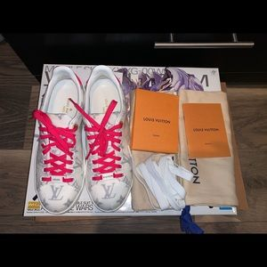 Authentic Louis Vuitton frontrow women sneakers